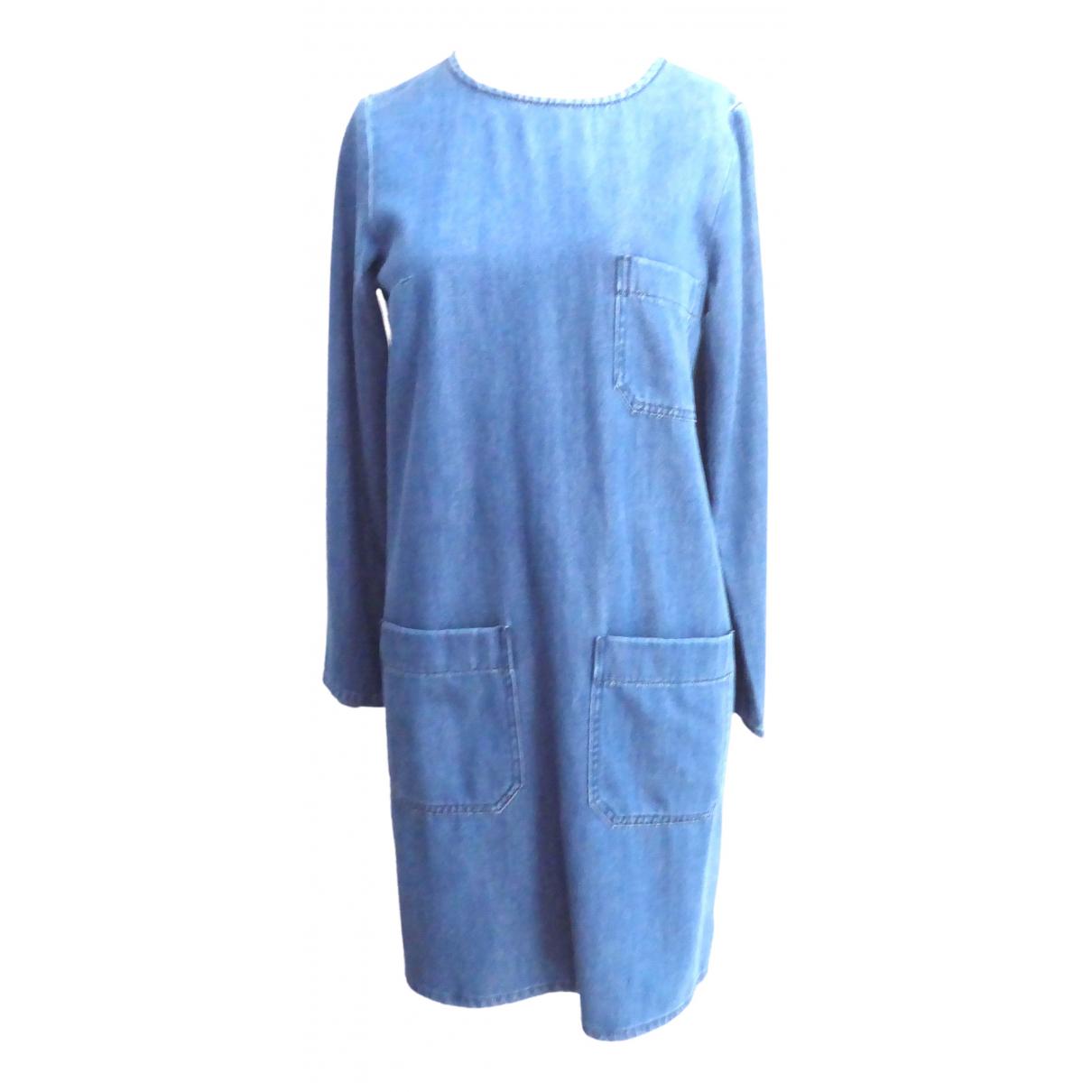 Closed \N Kleid in  Blau Baumwolle - Elasthan