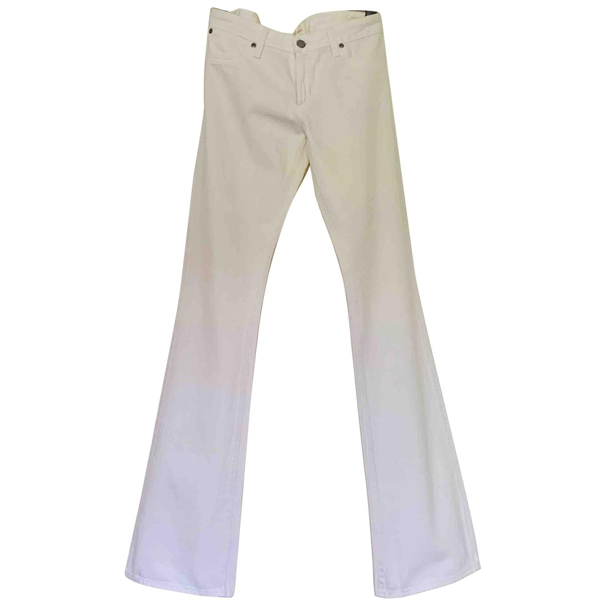 Paper Denim & Cloth \N White Denim - Jeans Jeans for Women 27 US