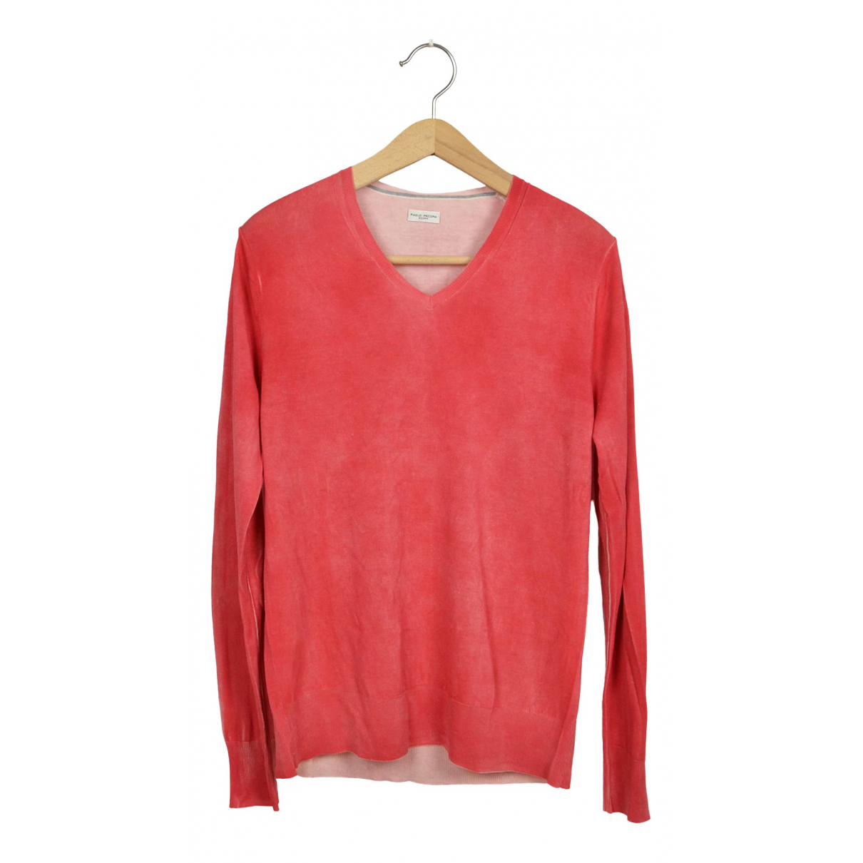 Non Signé / Unsigned \N Red Silk Knitwear & Sweatshirts for Men L International