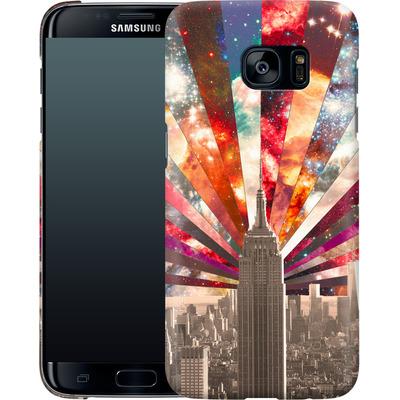 Samsung Galaxy S7 Edge Smartphone Huelle - Superstar New York von Bianca Green