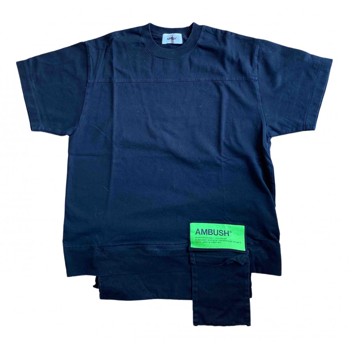 Ambush \N Black Cotton T-shirts for Men 2 0 - 6
