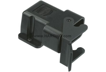 HARTING Han-Compact Series Angled Heavy Duty Power Connector Housing, Bulkhead Mount (10)