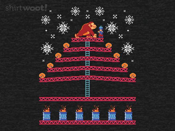 Christmas Kong T Shirt