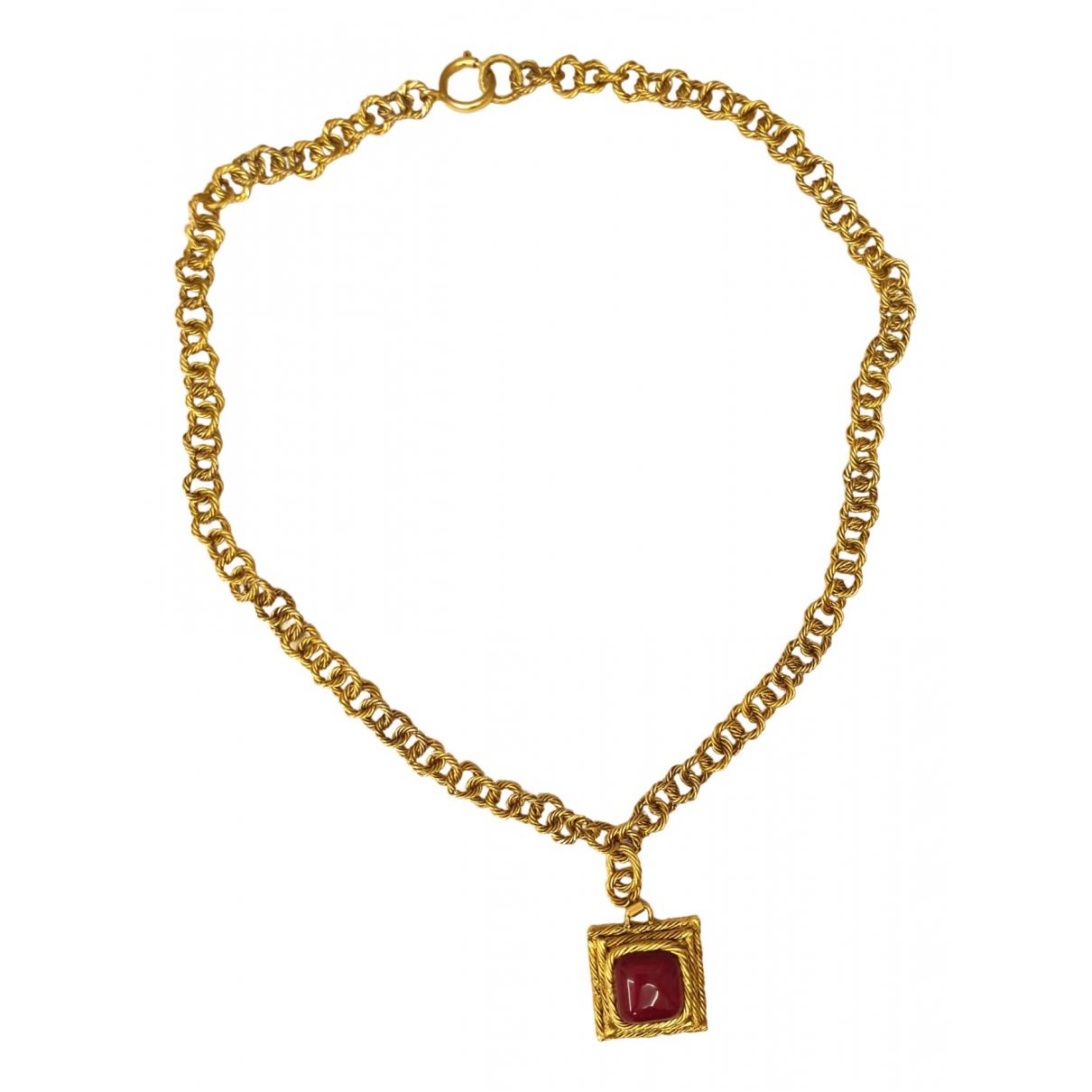 Chanel \N Kette in  Gold Gold und Stahl