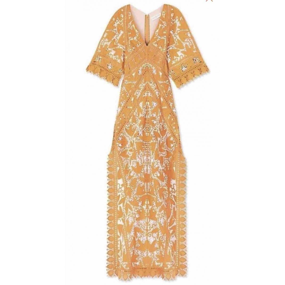 Tory Burch \N Orange Cotton dress for Women 4 US
