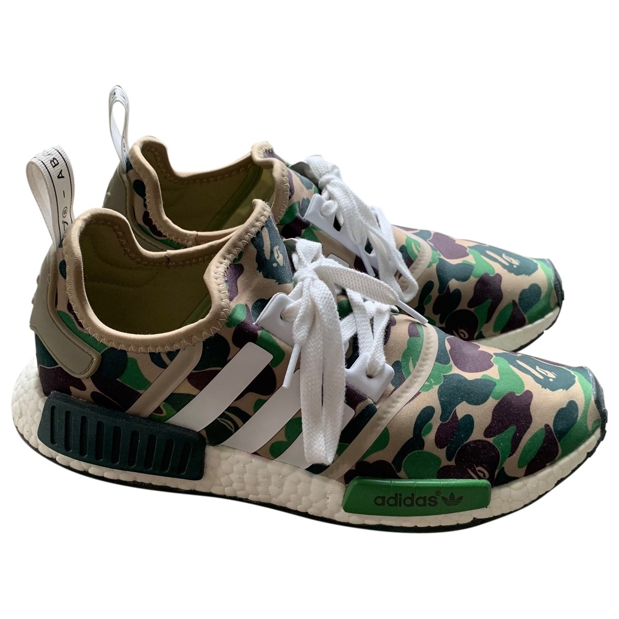 Adidas Nmd Green Trainers for Men 44.5 EU