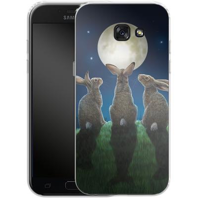 Samsung Galaxy A5 (2017) Silikon Handyhuelle - Moonshadows von Lisa Parker