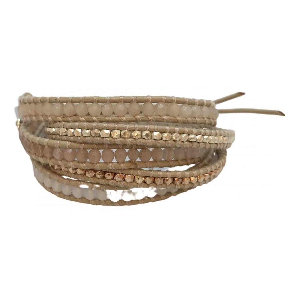 Chan Luu - Bracelet   pour femme en perles - ecru