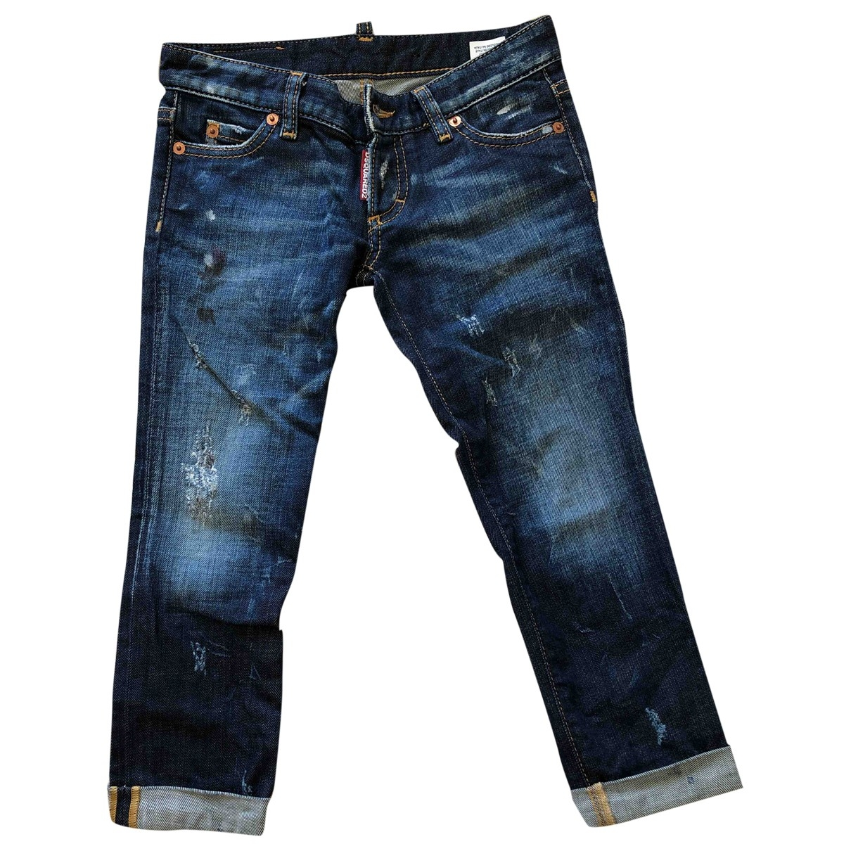 Dsquared2 \N Blue Denim - Jeans Trousers for Kids 8 years - until 50 inches UK