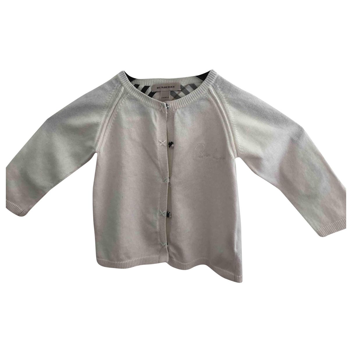 Burberry \N Ecru Wool Knitwear for Kids 12 months - up to 74cm FR