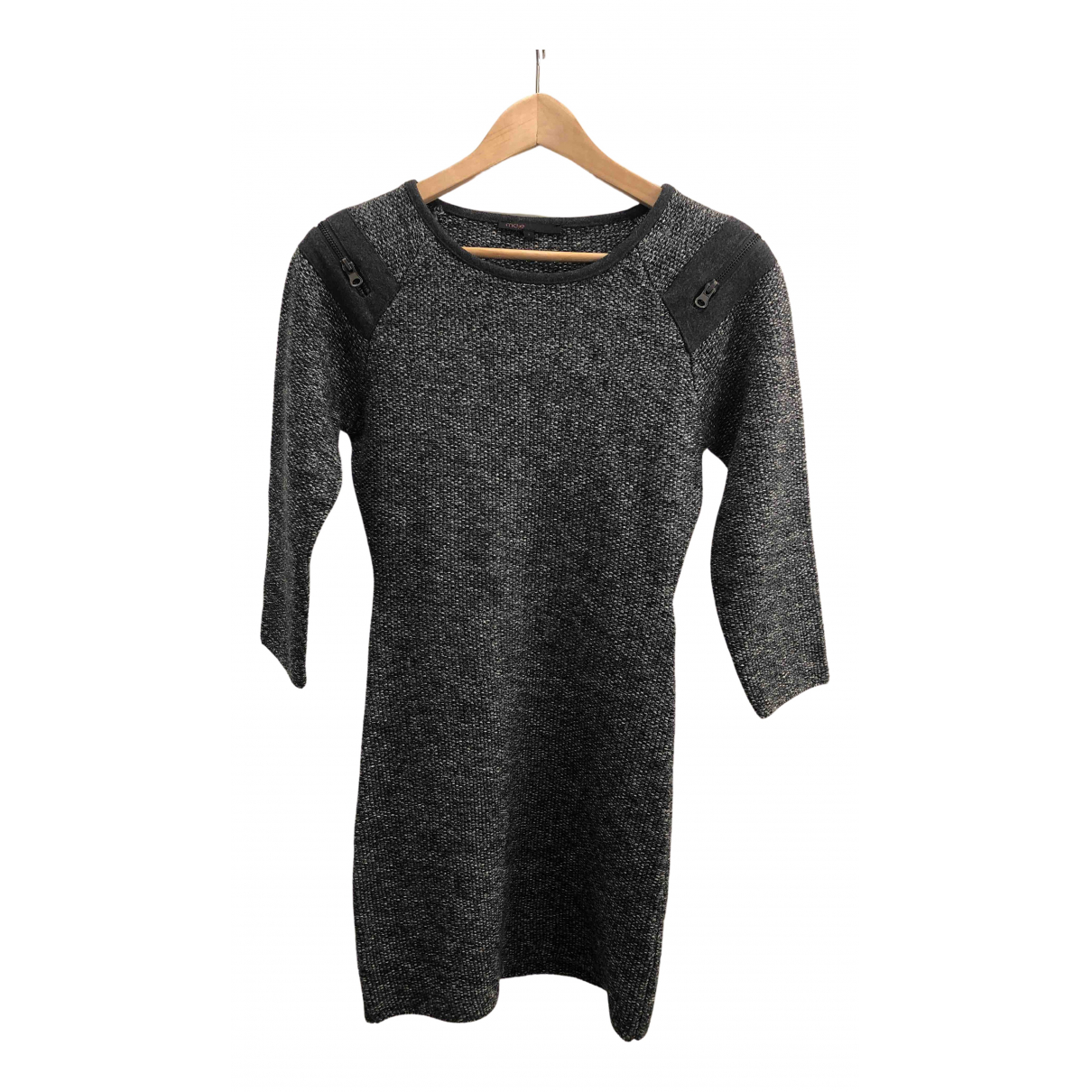 Maje - Robe   pour femme - anthracite
