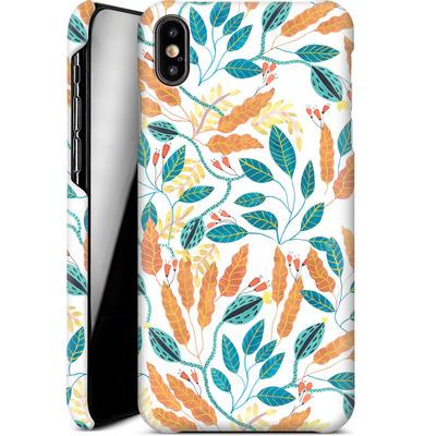 Apple iPhone XS Max Smartphone Huelle - Wild Leaves von Iisa Monttinen