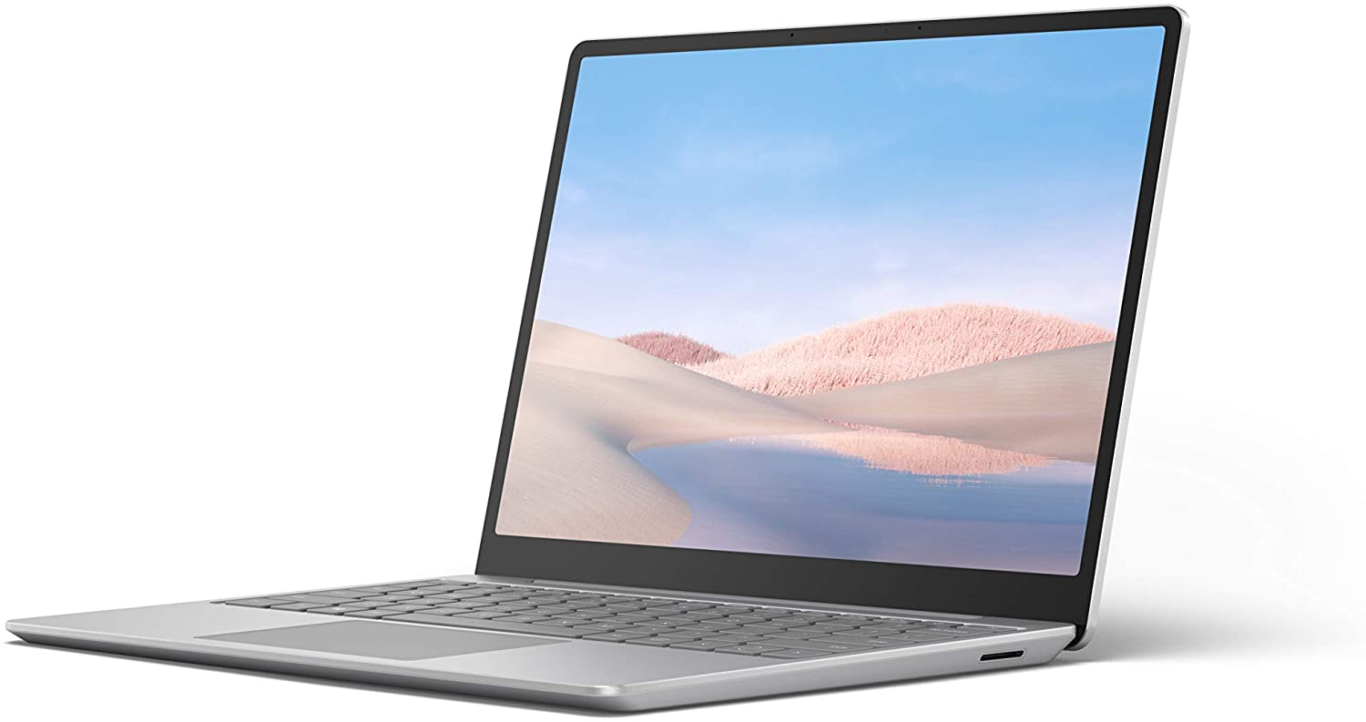 Microsoft Surface Laptop Go - 12.4-in - Core i5 - 8GB - 128GB SSD - Platinum
