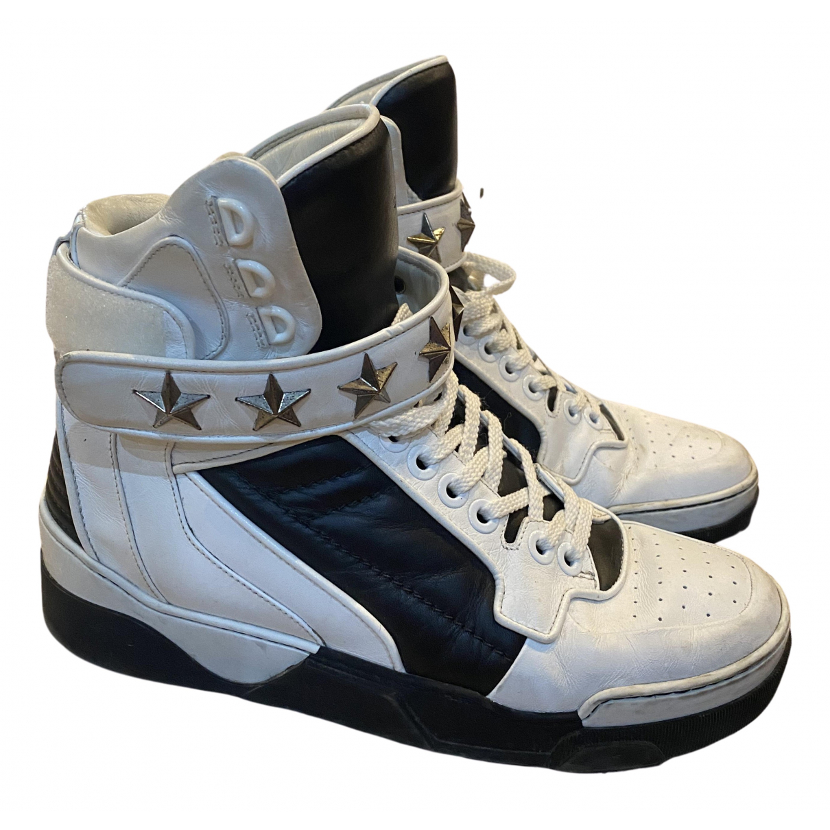 Givenchy Tyson White Leather Trainers for Men 41 EU