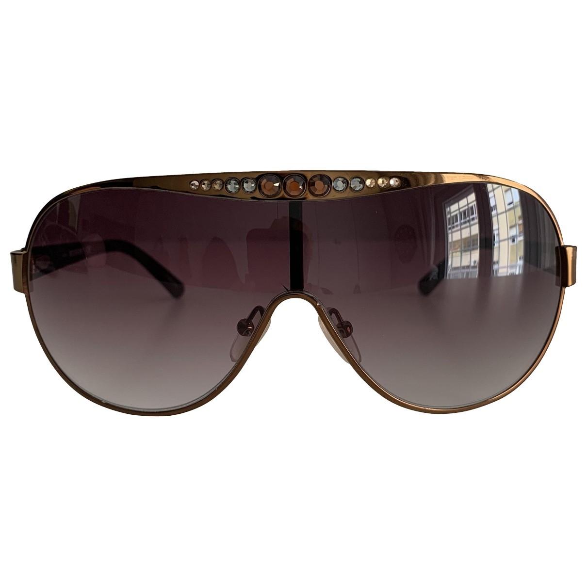 Missoni \N Brown Metal Sunglasses for Women \N