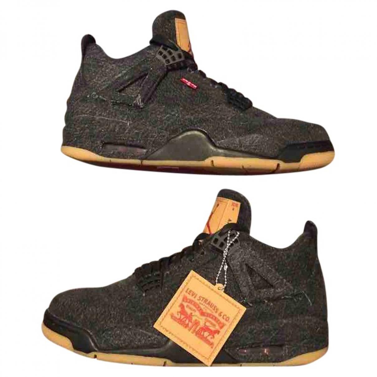 Jordan X Levis - Baskets   pour homme en autre - noir