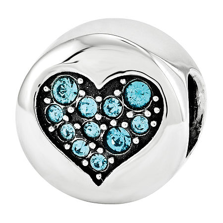 PS Personal Style Crystal Sterling Silver Bead, One Size , No Color Family