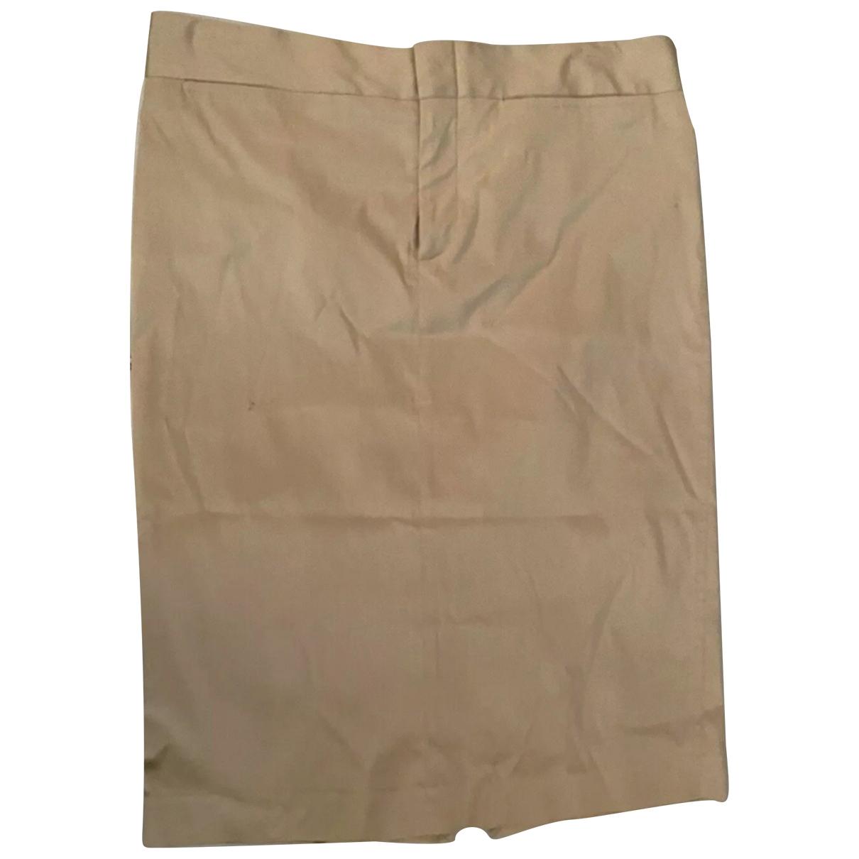 Gucci - Jupe   pour femme en soie - beige
