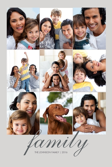 Family 20x30 Wood Panel, Home Décor -Family Classic