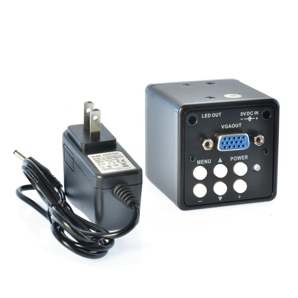 HAYEAR 2.0MP VGA Digital Industrial Microscope Camera 100X Zoom C-mount Lens 7