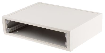 METCASE Off white Al mettec case,350x250x85mm
