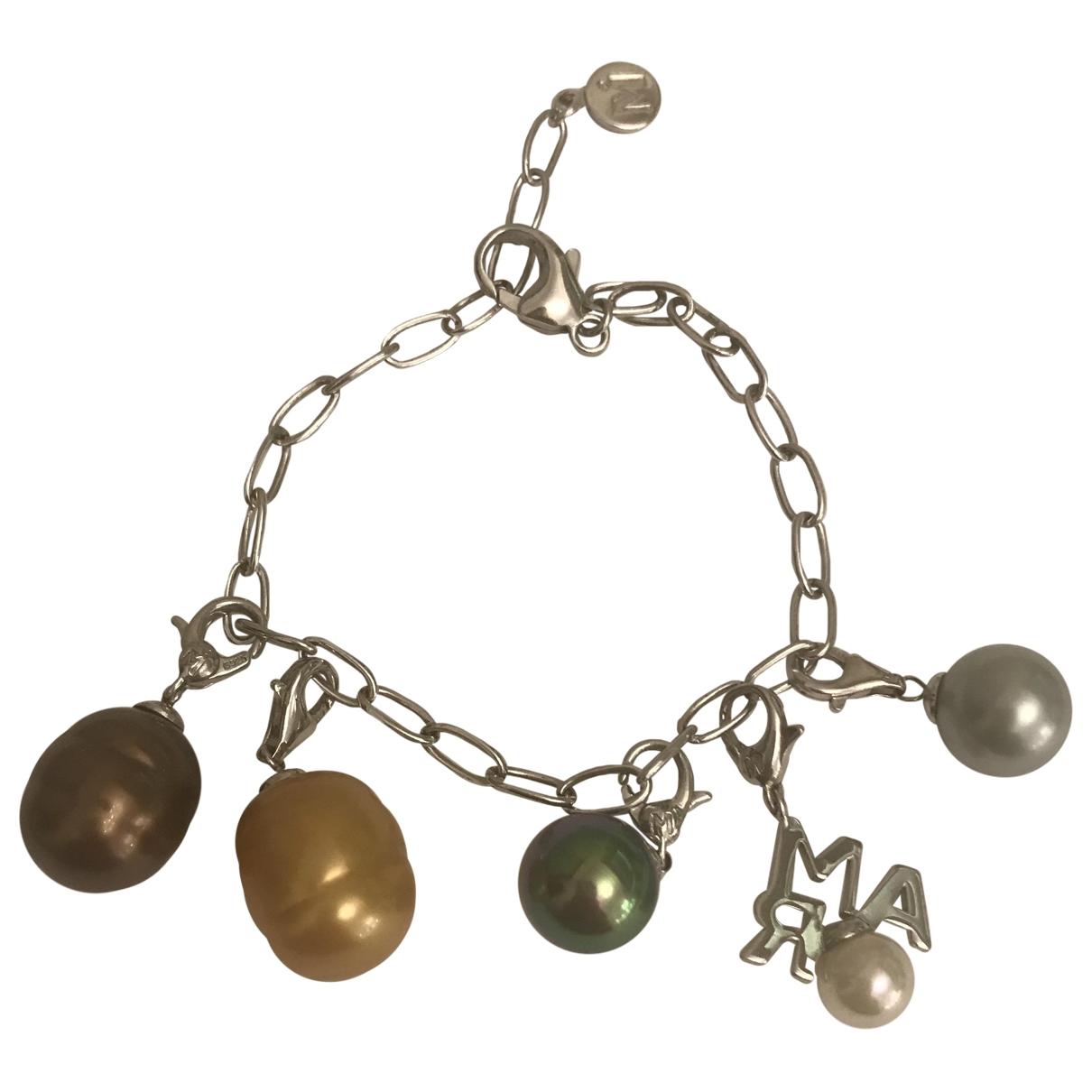 - Pendentif Nacre pour femme en perles - argente
