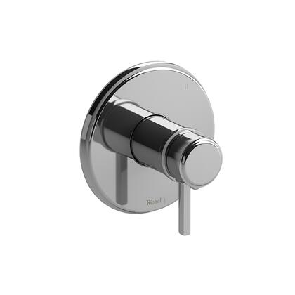 Momenti TMMRD47LBG 3-Way No Share Thermostatic/Pressure Balance Coaxial Valve Trim with Lever Handles  in Brushed