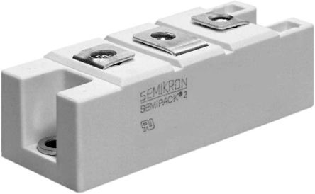 Semikron 1600V 150A, Silicon Junction Diode, 3-Pin A 23 SKKD 162/16