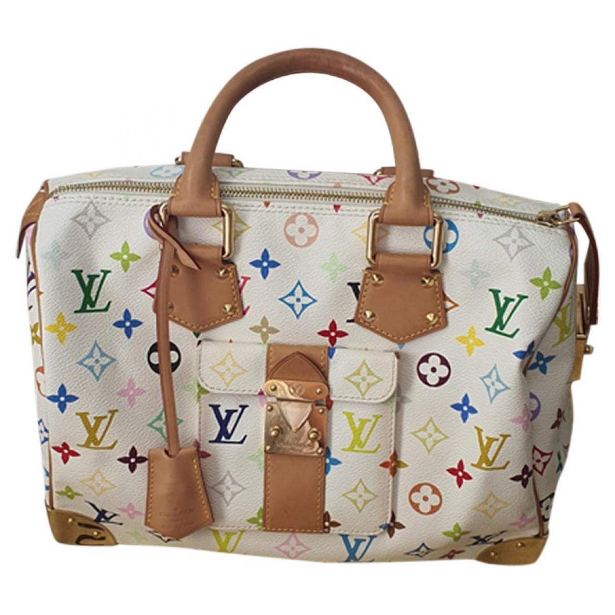 Louis Vuitton Speedy Multicolour Cloth handbag for Women N
