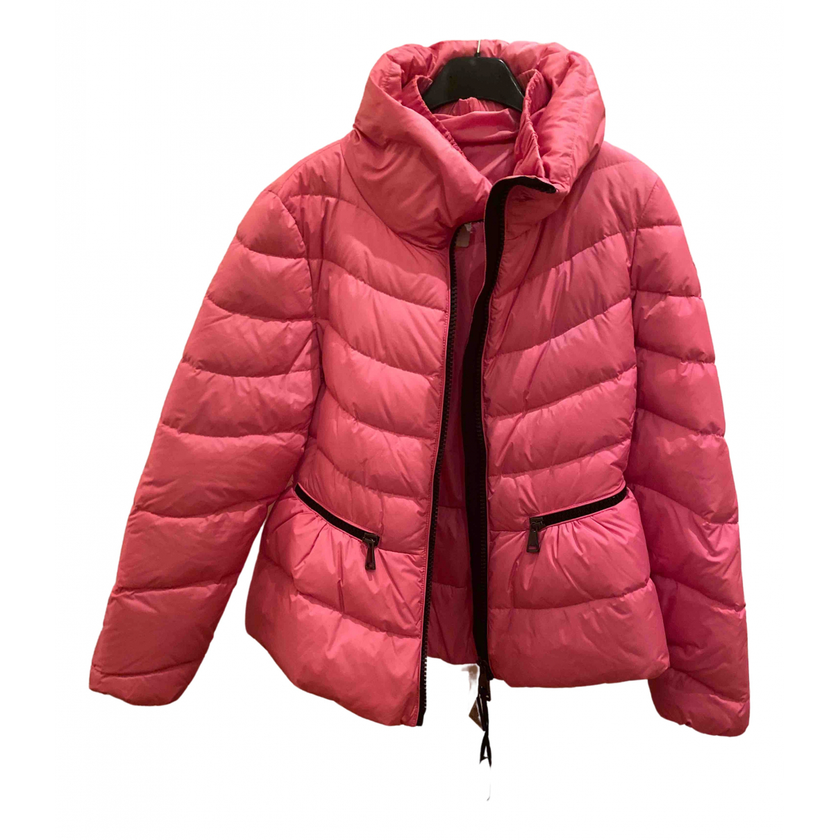 Moncler Classic Pink coat for Women 2 0-5
