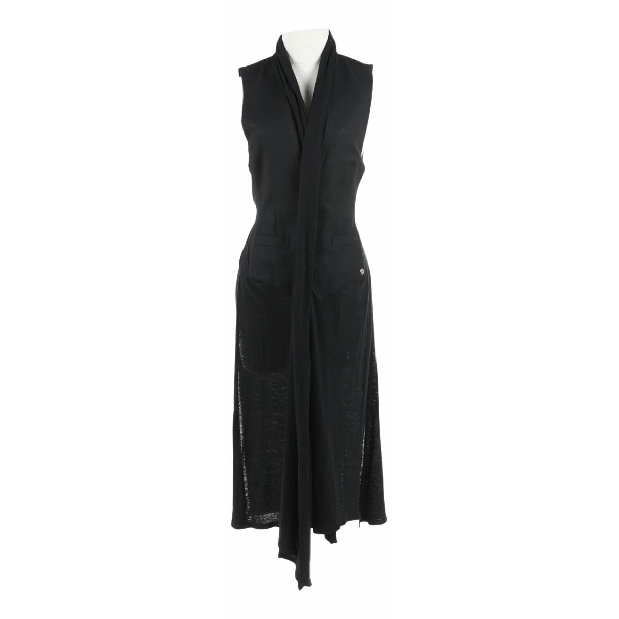 Miharayasuhiro - Pull   pour femme en laine - noir
