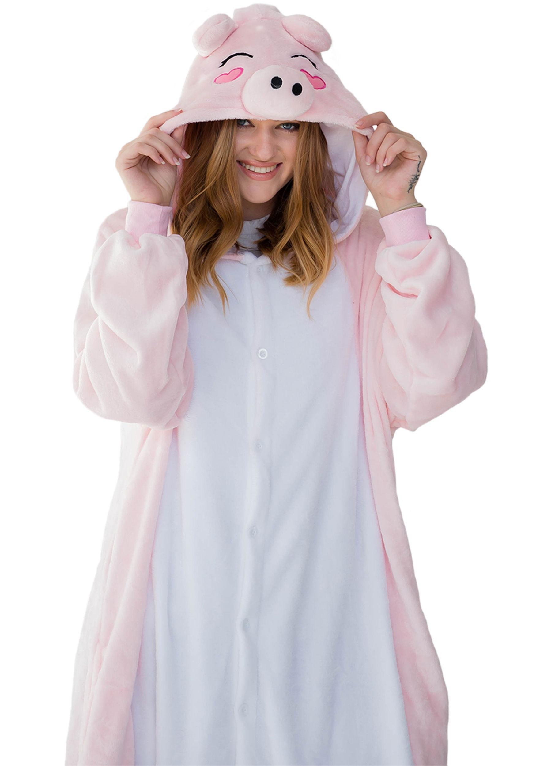 Adult Pig Yumio Kigurumi Costume