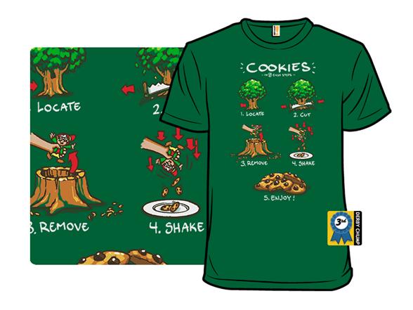 Making Cookies T Shirt