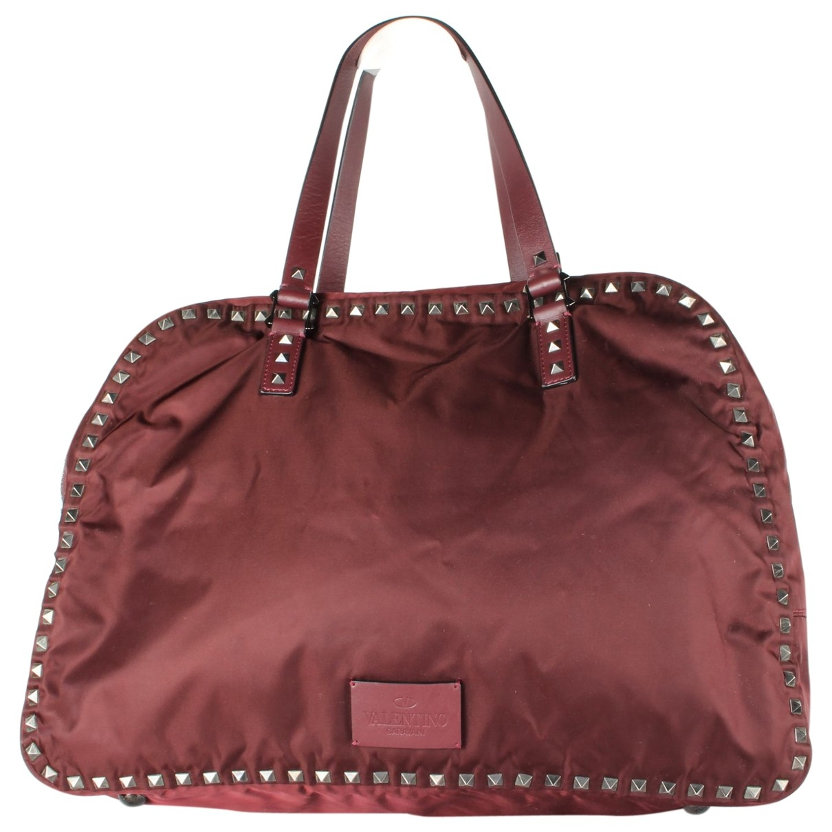 Valentino Garavani \N Burgundy Travel bag for Women \N