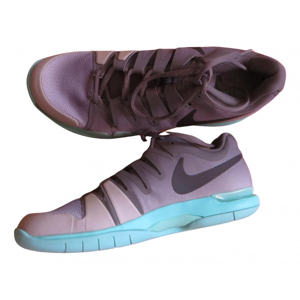 Nike - Baskets   pour homme - gris
