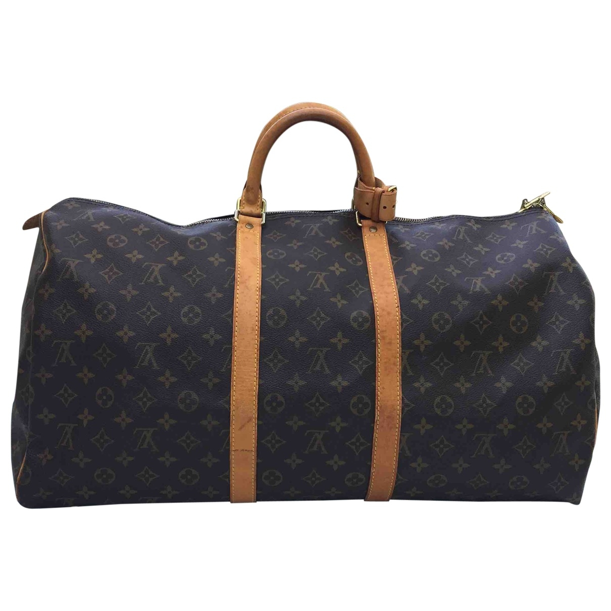 Bolso 48h Keepall de Lona Louis Vuitton