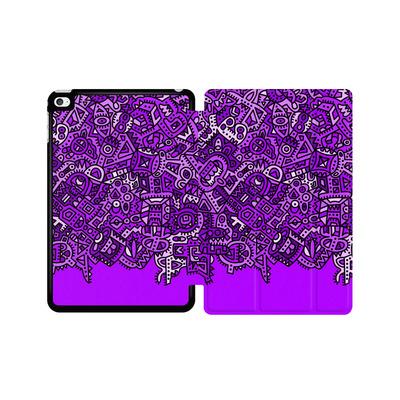 Apple iPad mini 4 Tablet Smart Case - Violet Black von Mattartiste