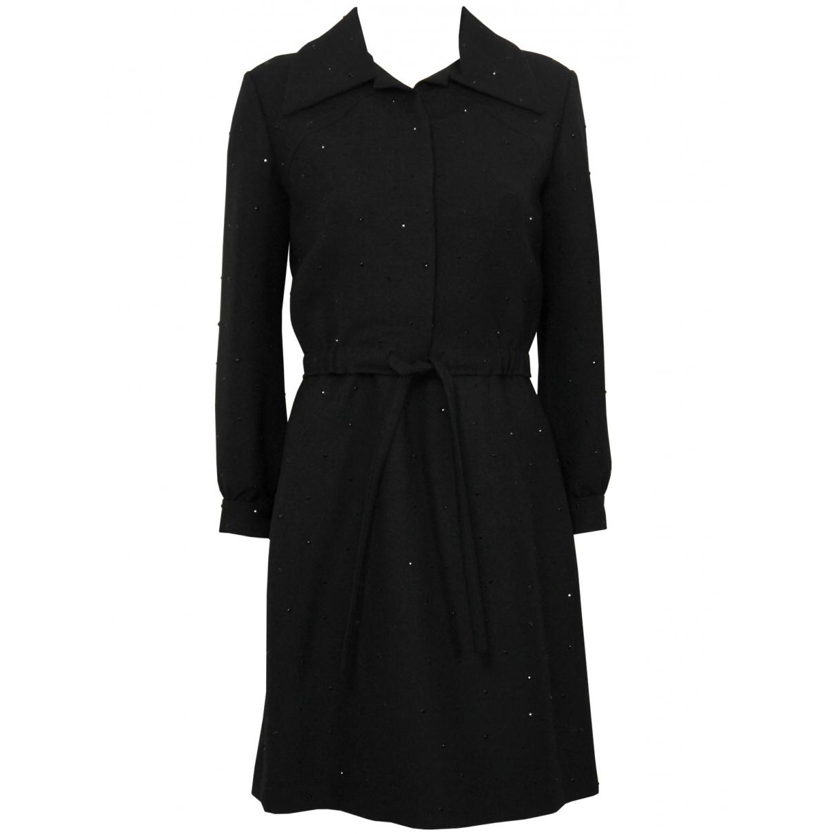 Guy Laroche \N Kleid in  Schwarz Wolle