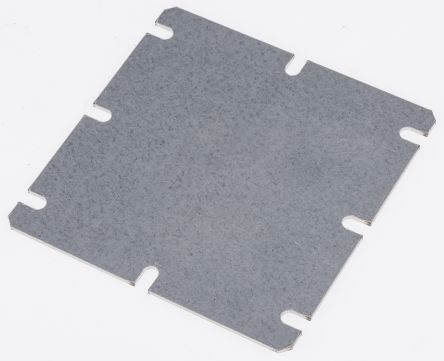 Fibox Mounting Plate 98 x 98 x 1.5mm for use with MNX Series