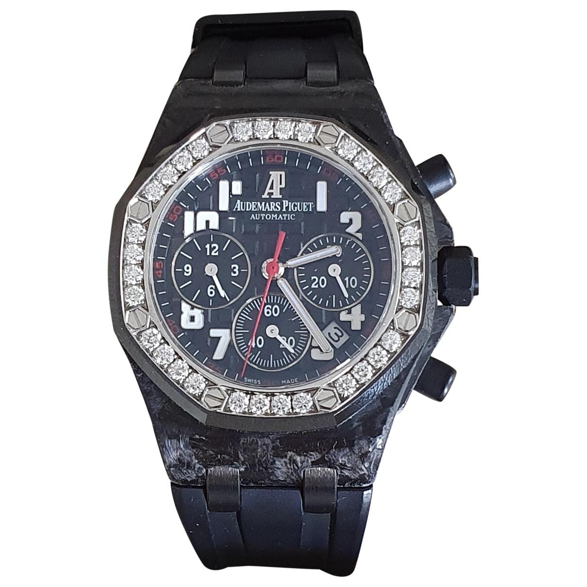 Audemars Piguet Royal Oak Offshore Black watch for Women \N