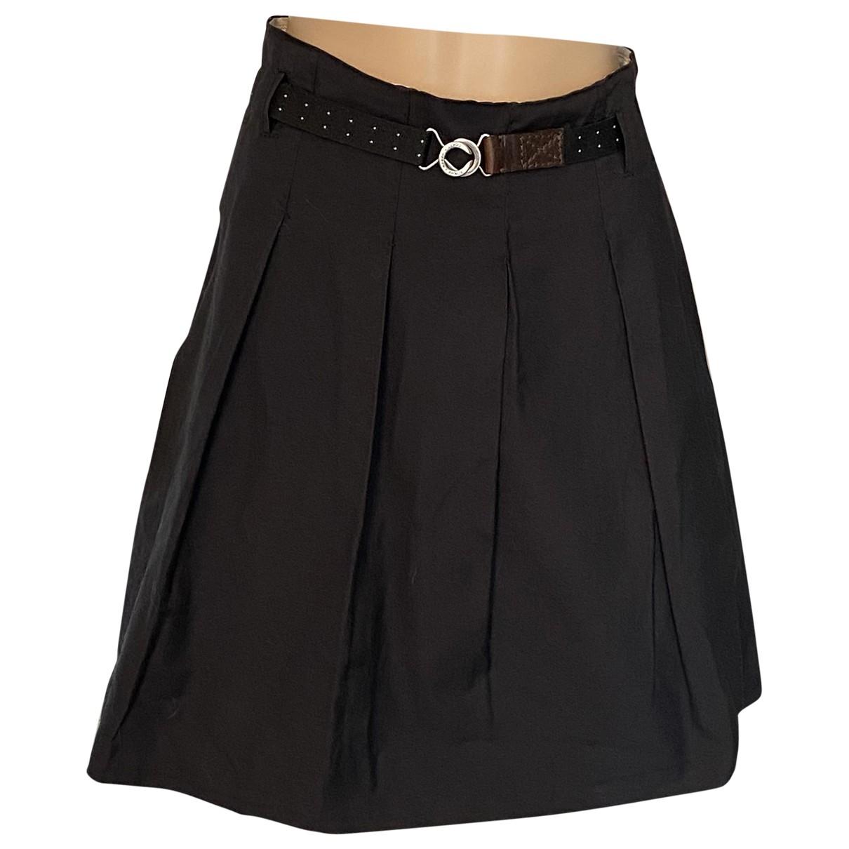 Weber - Jupe   pour femme en coton - noir