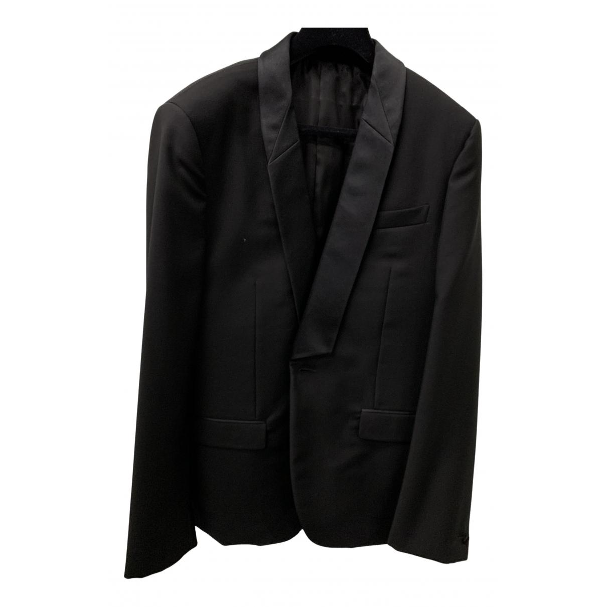 Givenchy - Costumes   pour homme en laine - noir
