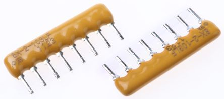 Bourns Isolated Resistor Array 10kΩ ±2% 4 Resistors, 1W Total, SIP package 4600X Through Hole (200)