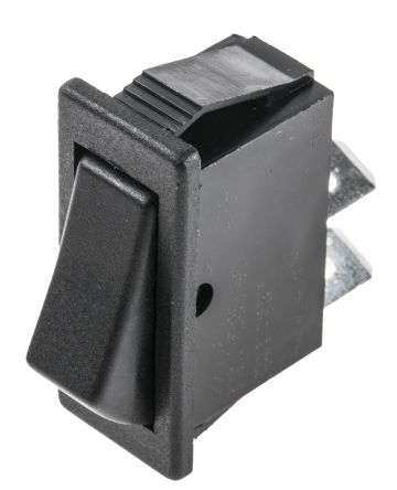 Arcolectric Single Pole Single Throw (SPST), On-Off Rocker Switch Panel Mount