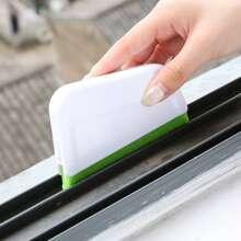 1 pieza cepillo de limpieza de huecos de ventana