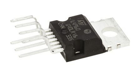 STMicroelectronics , L4960 Step-Down Switching Regulator, 1-Channel Adjustable 7-Pin, HEPTAWATT V