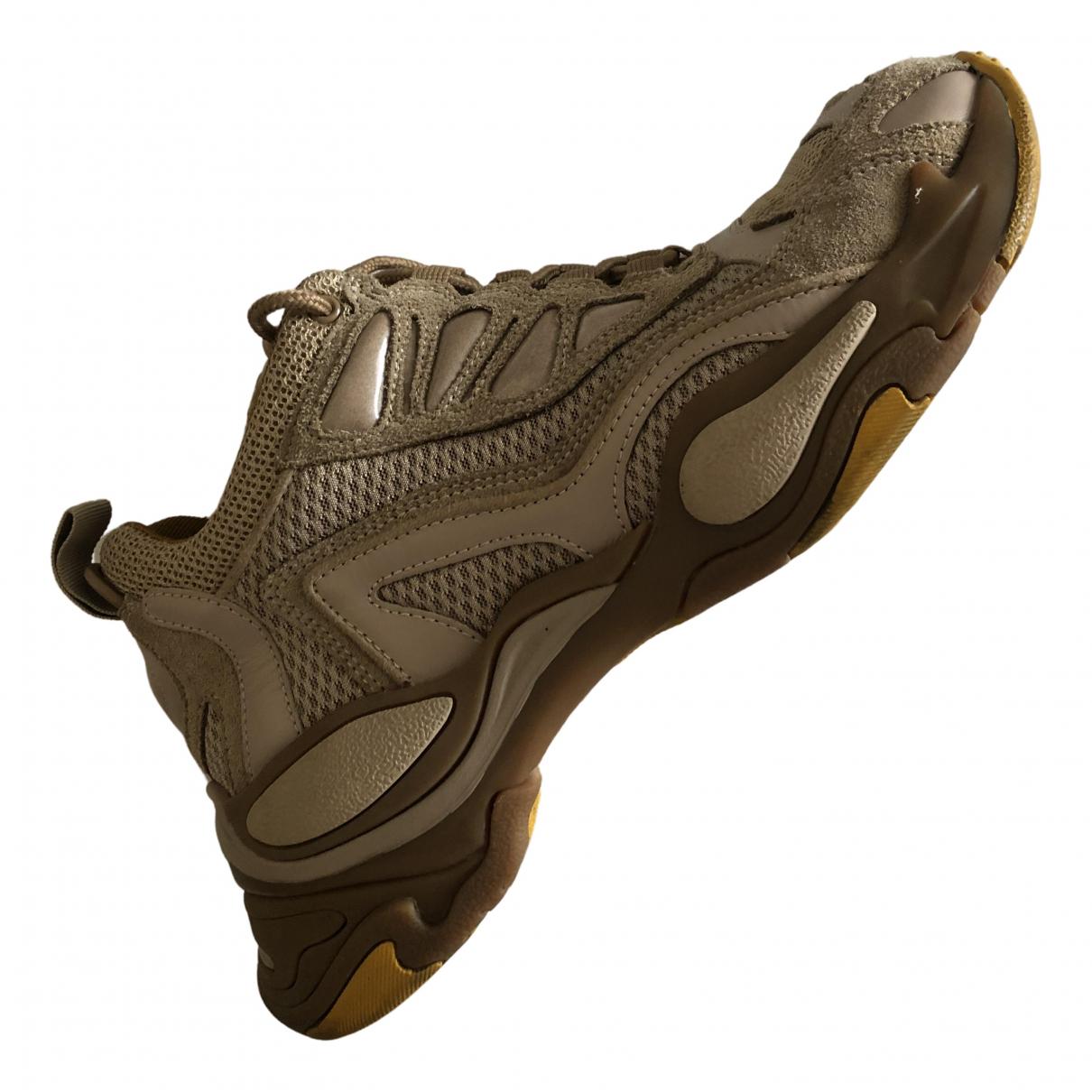 Sandro Astro Sneakers in  Beige Leinen