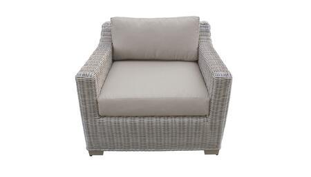 TKC038b-CC-BEIGE Club Chair - 2 Sets of Beige
