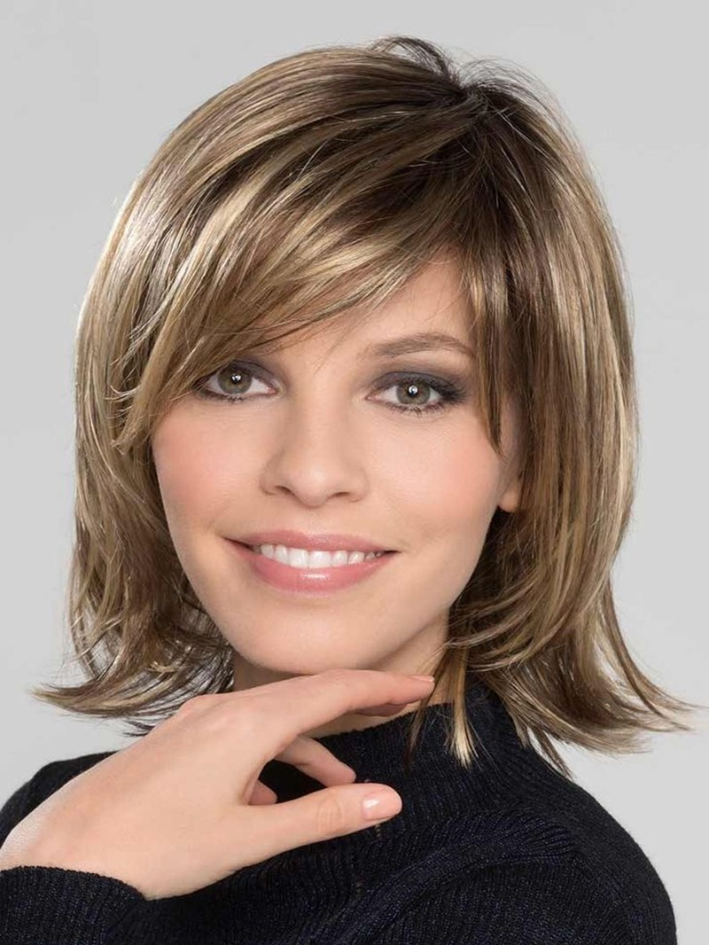 Ericdress Sexy Medium-Length Natural Straight Synthetic Hair Capless Wigs 10 Inches