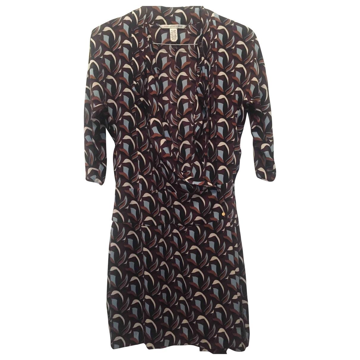 Diane Von Furstenberg \N Multicolour Silk dress for Women 6 UK